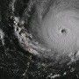 Vue satellite de l'oeil du cyclone Maria