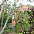 Le bungalow vue du jardin