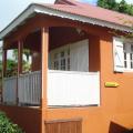 Vue extérieur du bungalow