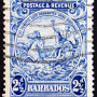 vieux timbre de Barbados