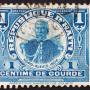 vieux timbre de Haïti