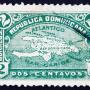vieux timbre de republica dominicana
