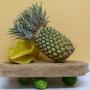 Ananas à trois têtes